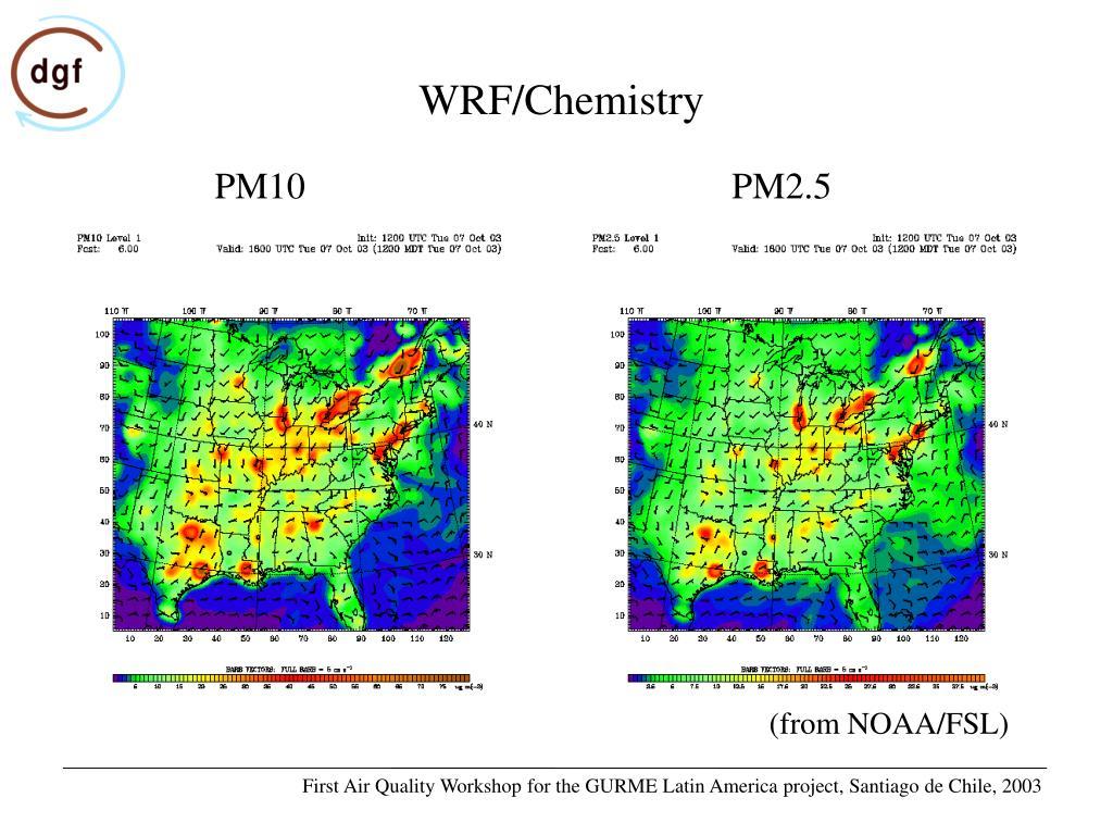 WRF/Chemistry