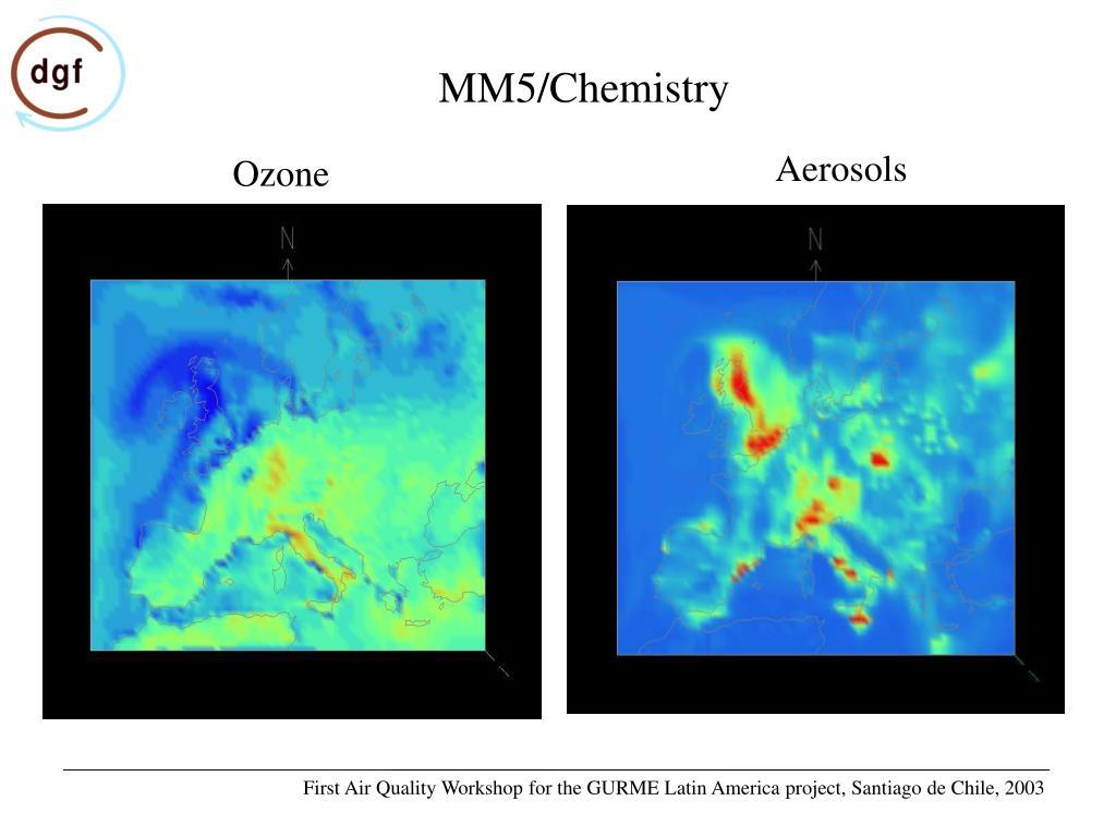 MM5/Chemistry