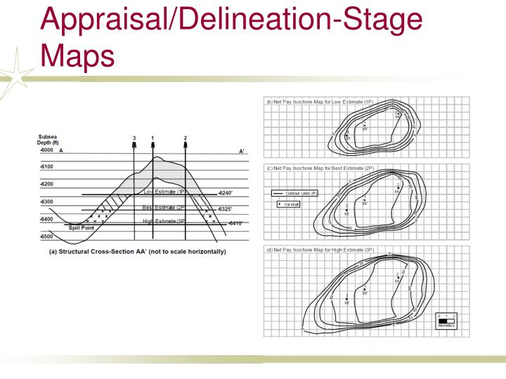 Appraisal/Delineation-Stage Maps