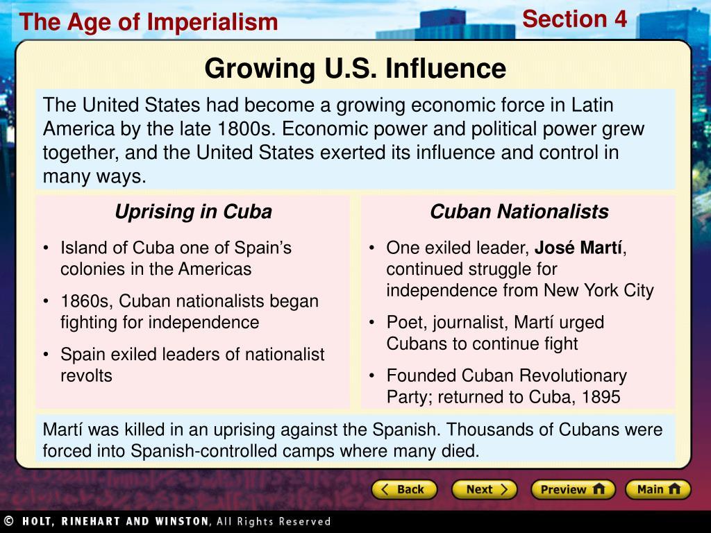 Uprising in Cuba