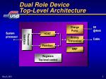 dual role device top level architecture