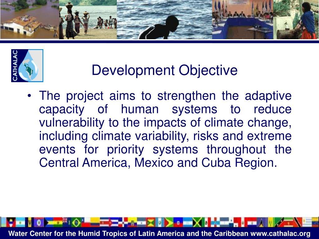 Development Objective