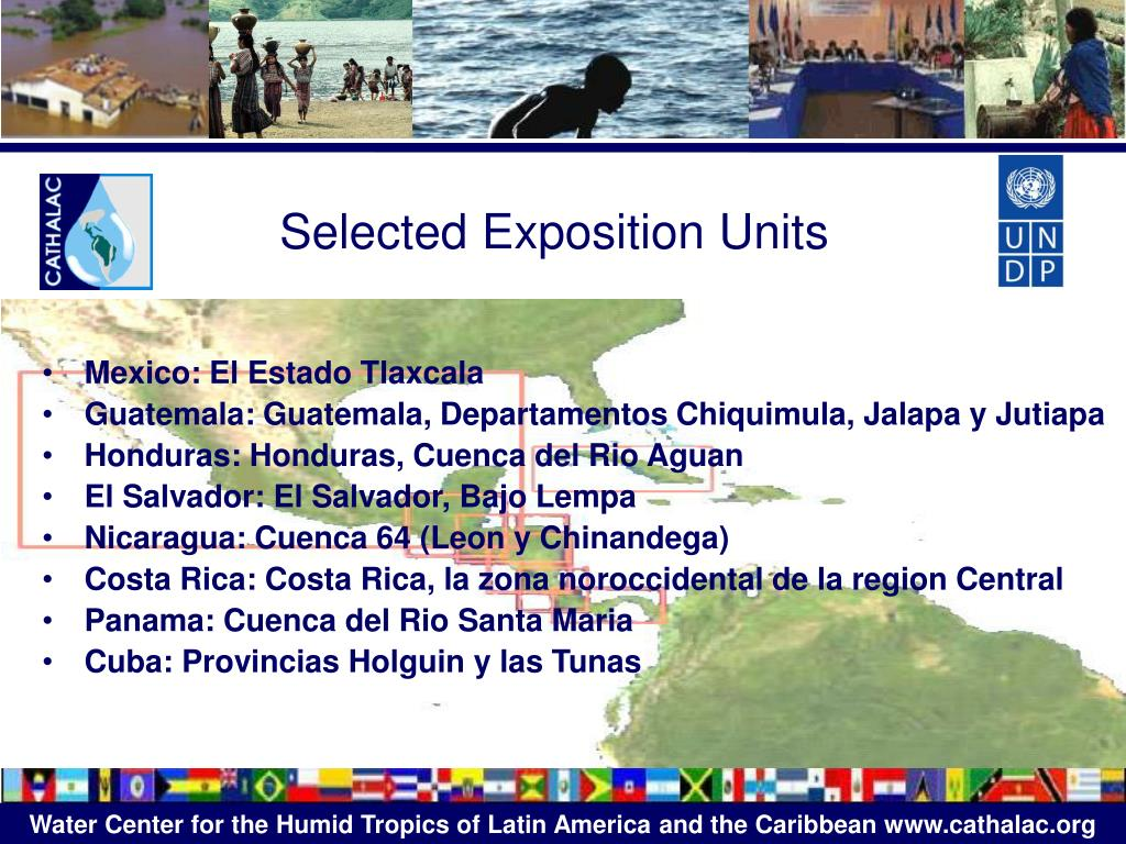 Selected Exposition Units
