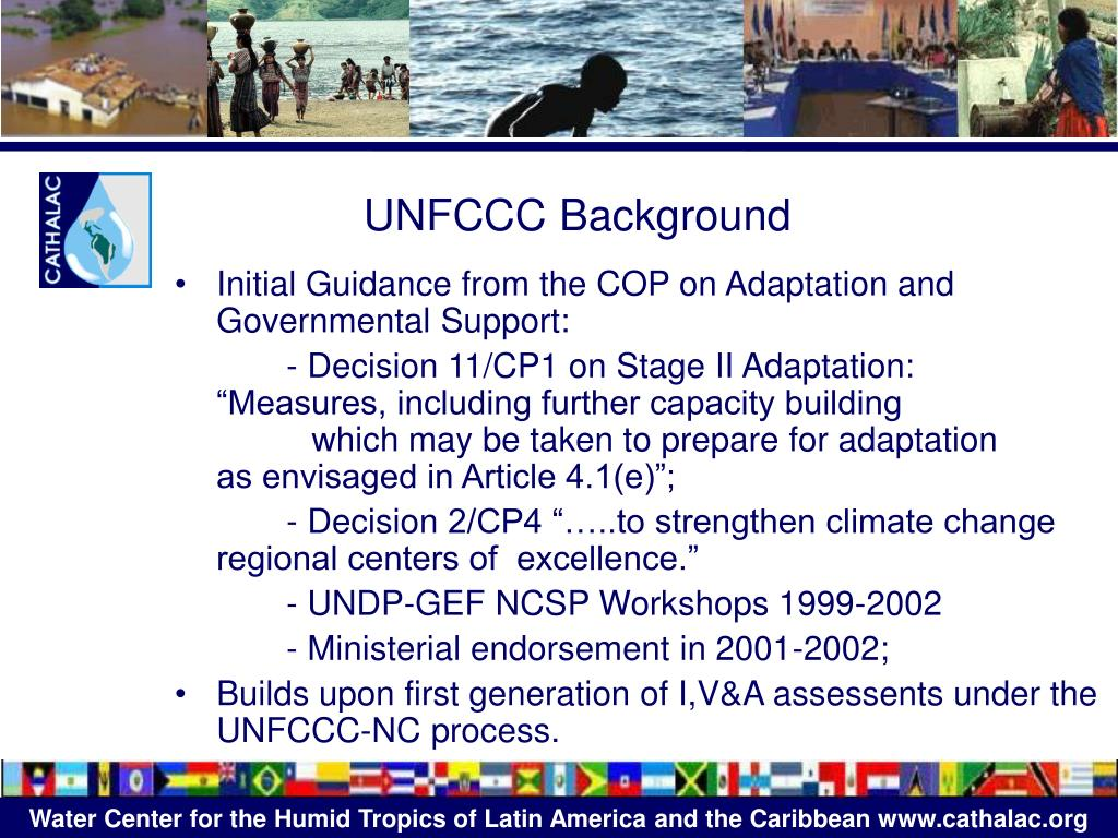 UNFCCC Background