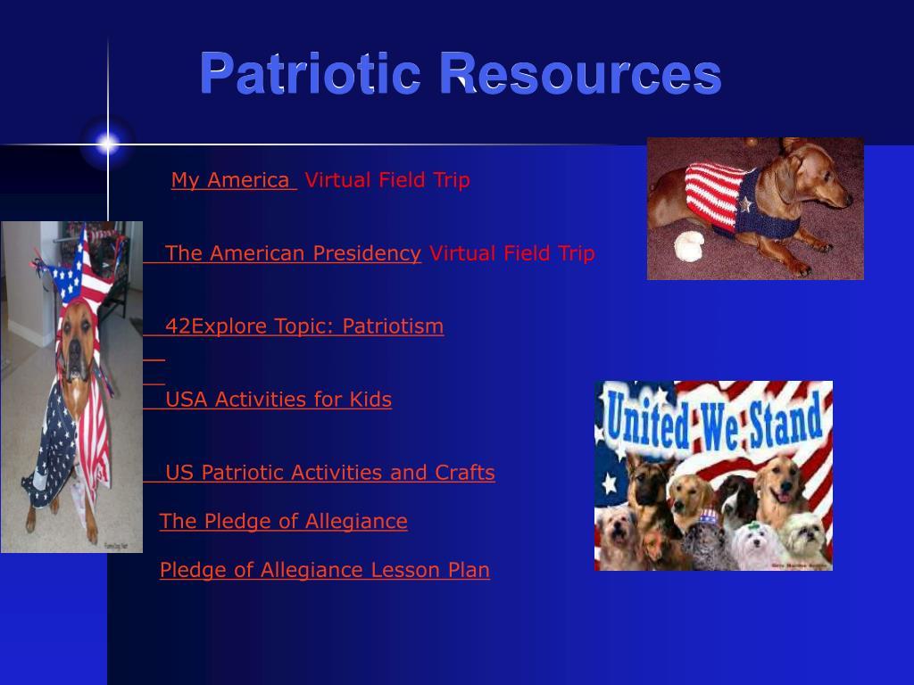 Patriotic Resources