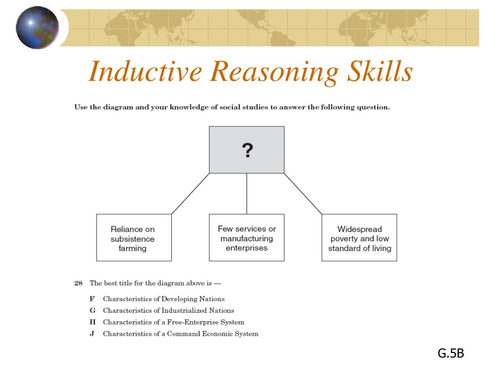 Inductive Reasoning Skills