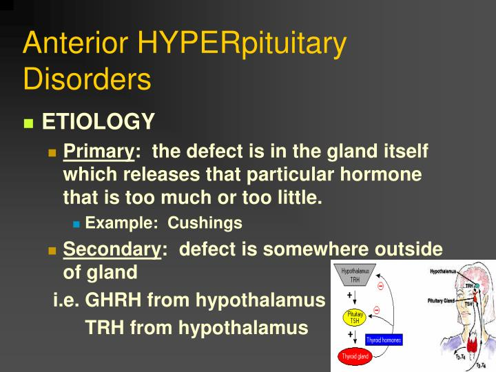 Anterior HYPERpituitary Disorders