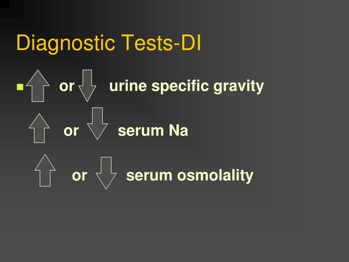 Diagnostic Tests-DI