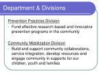 department divisions1