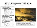 end of napoleon s empire45