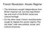 french revolution ancien regime