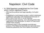 napoleon civil code