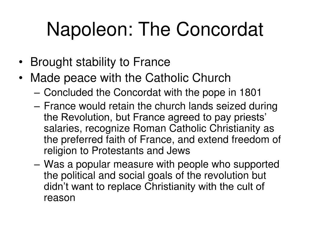 Napoleon: The Concordat