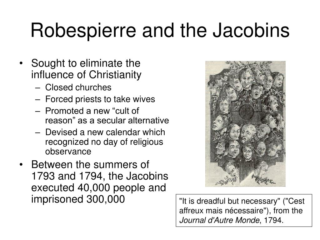 Robespierre and the Jacobins