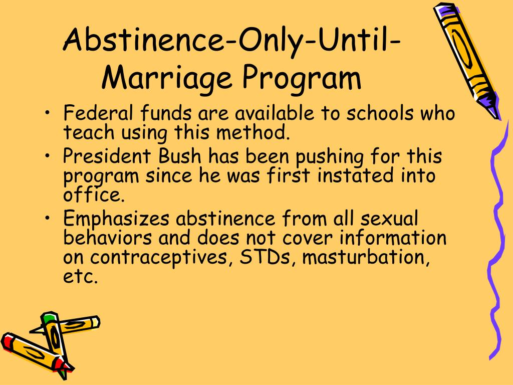Abstinence-Only-Until-Marriage Program