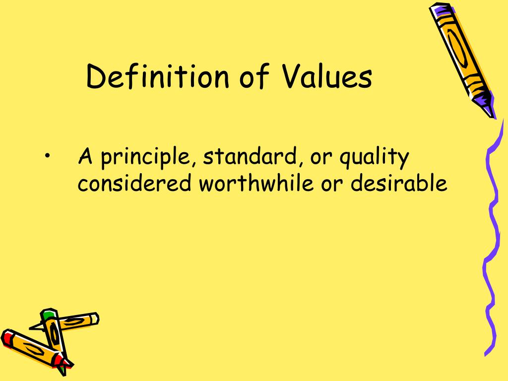 Definition of Values