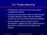 5 2 project planning