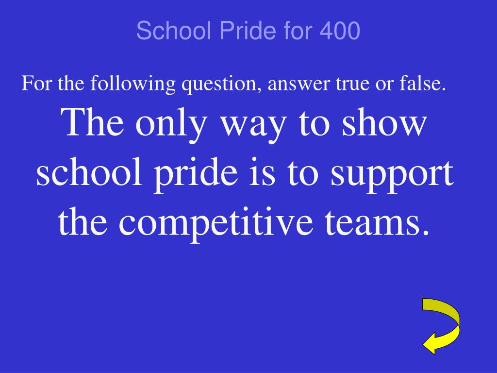 School Pride for 400
