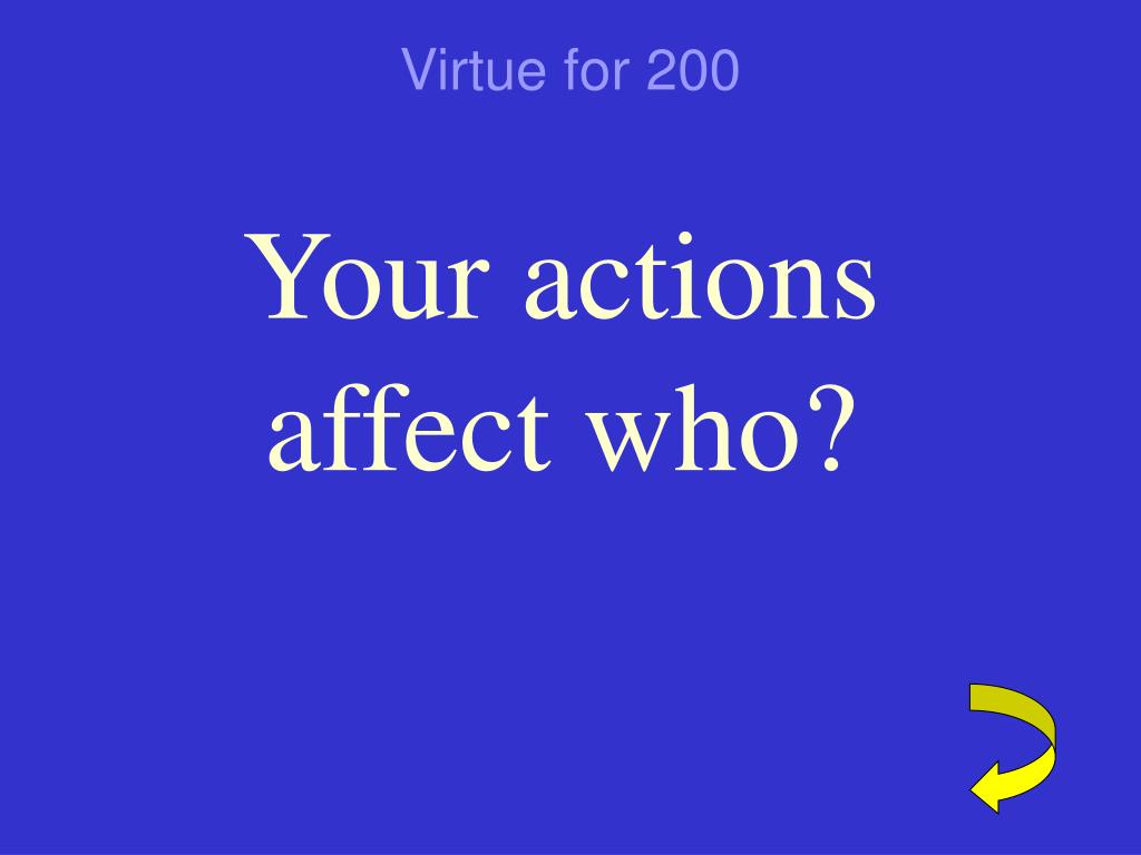 Virtue for 200
