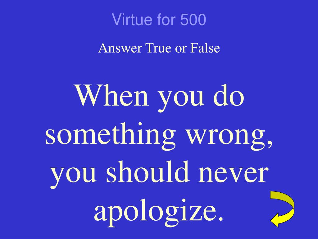 Virtue for 500