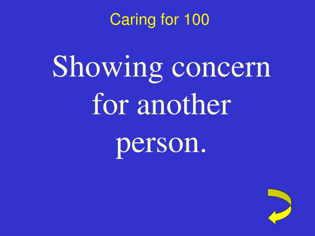 Caring for 100