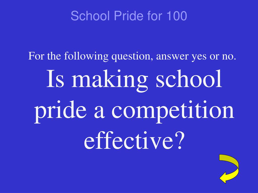 School Pride for 100