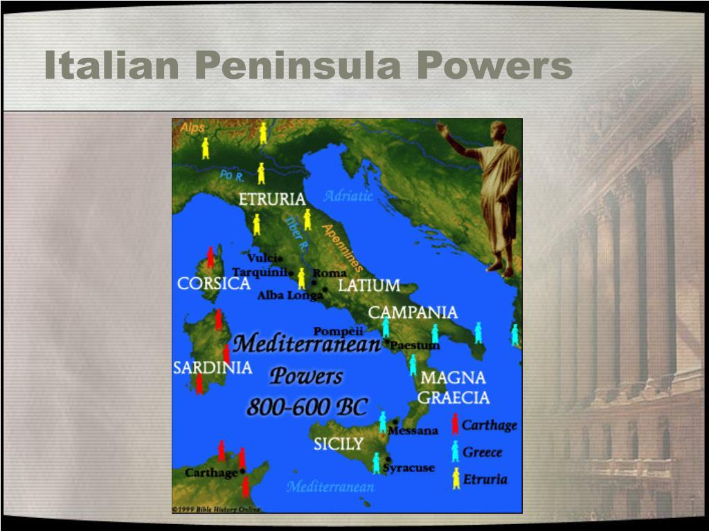 Italian Peninsula Powers