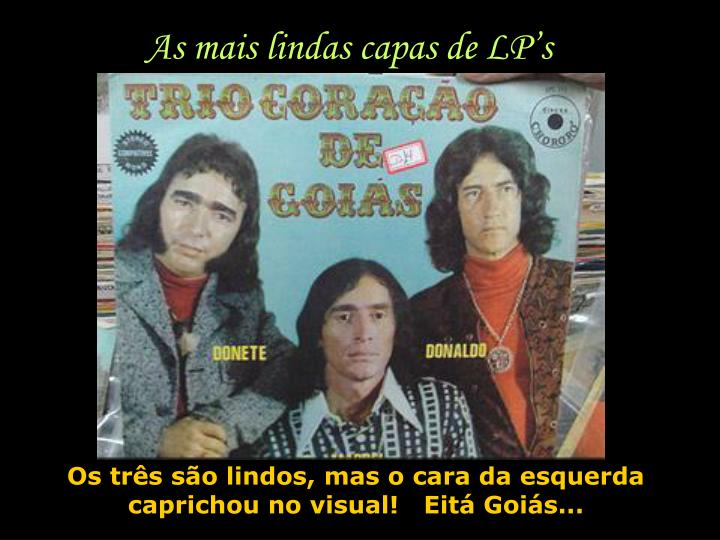 As mais lindas capas de LP's