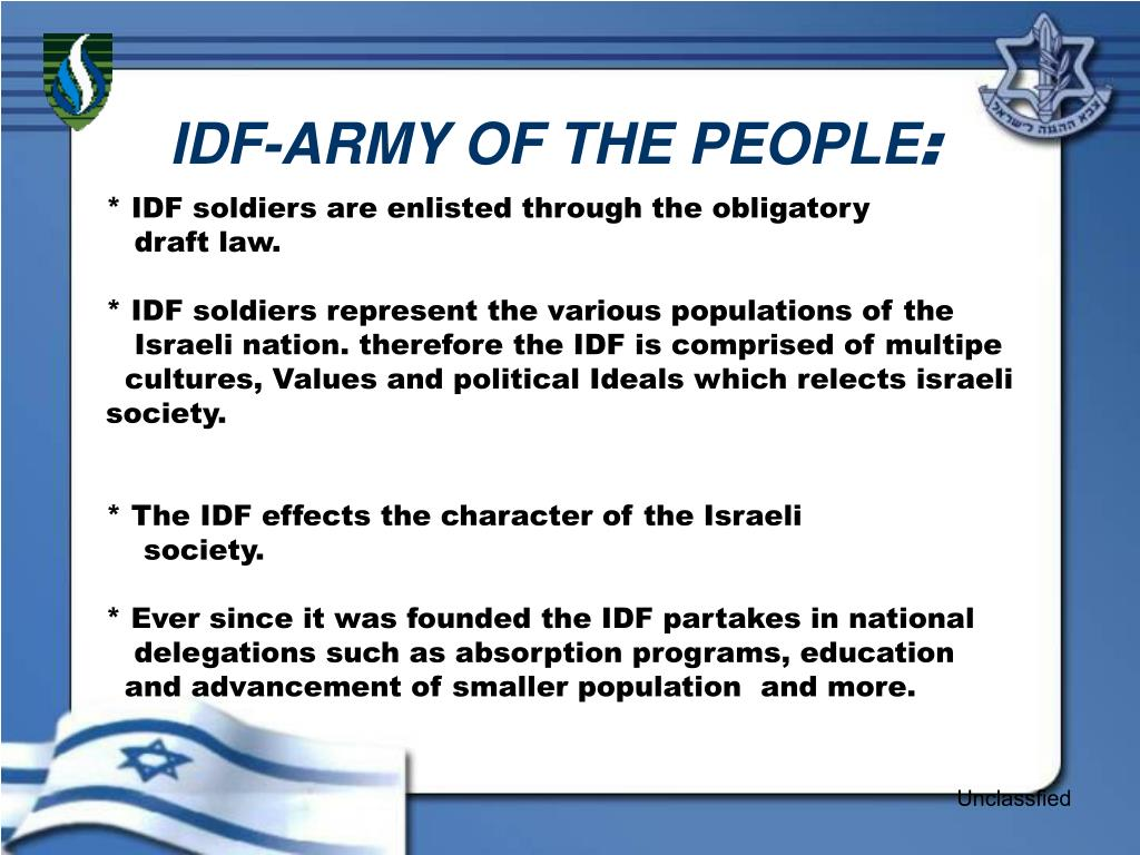IDF-ARMY OF THE PEOPLE