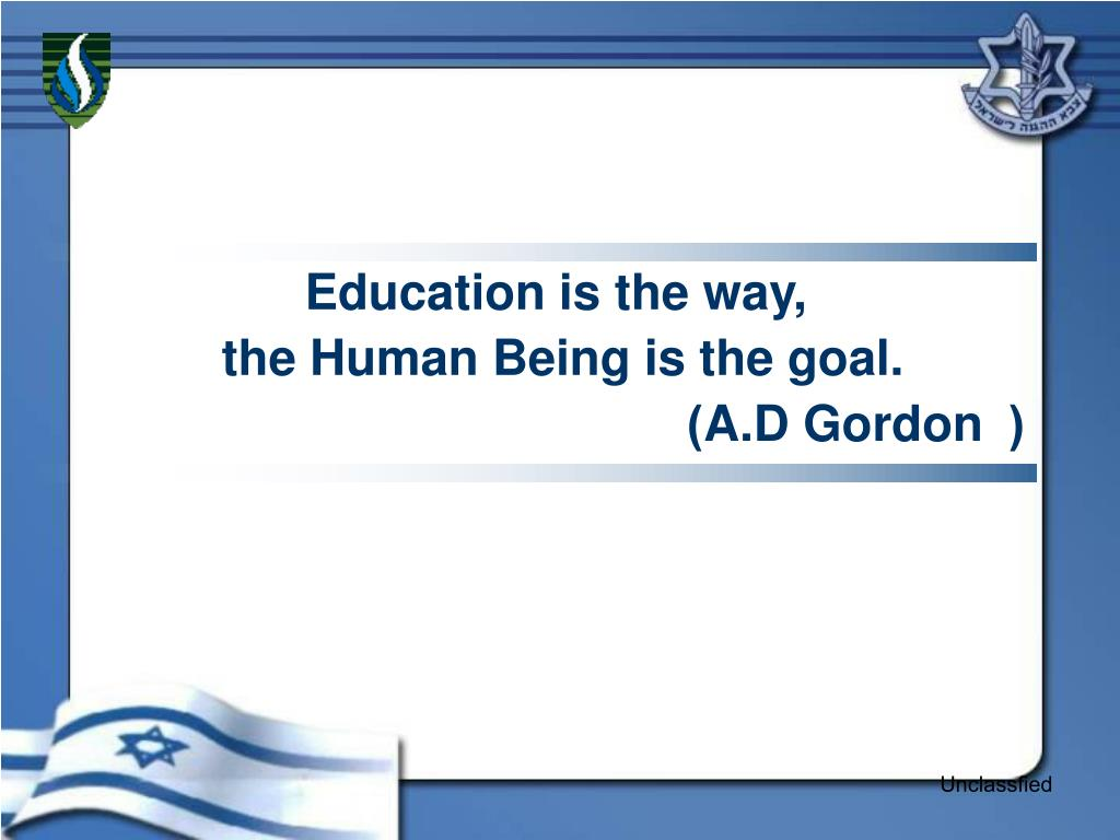 Education is the way,