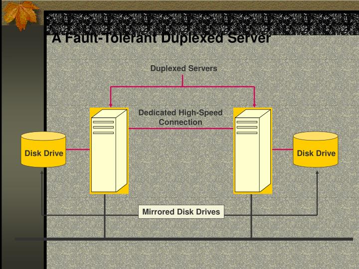 A Fault-Tolerant Duplexed Server