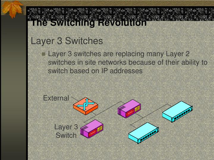 The Switching Revolution