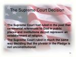 the supreme court decision