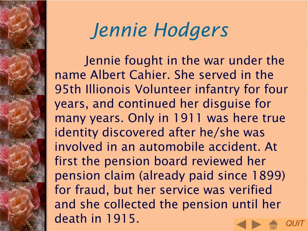 Jennie Hodgers