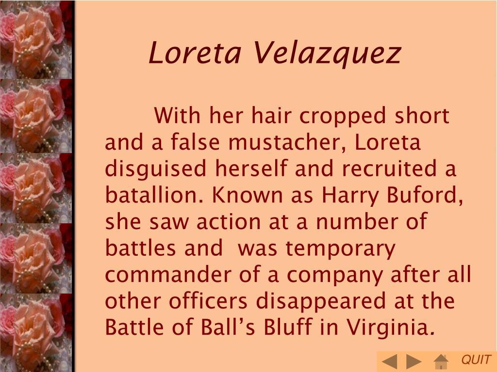 Loreta Velazquez