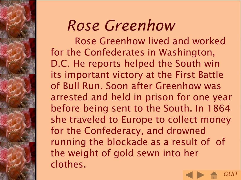 Rose Greenhow