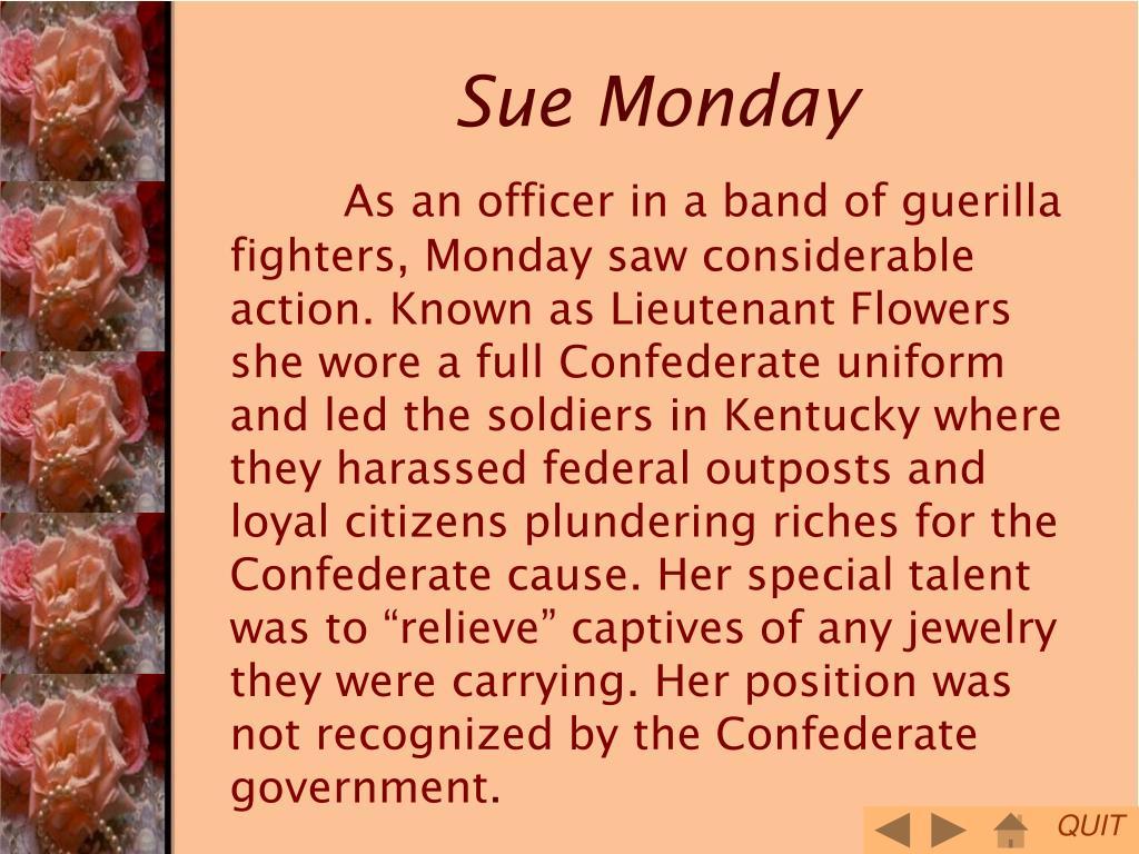 Sue Monday