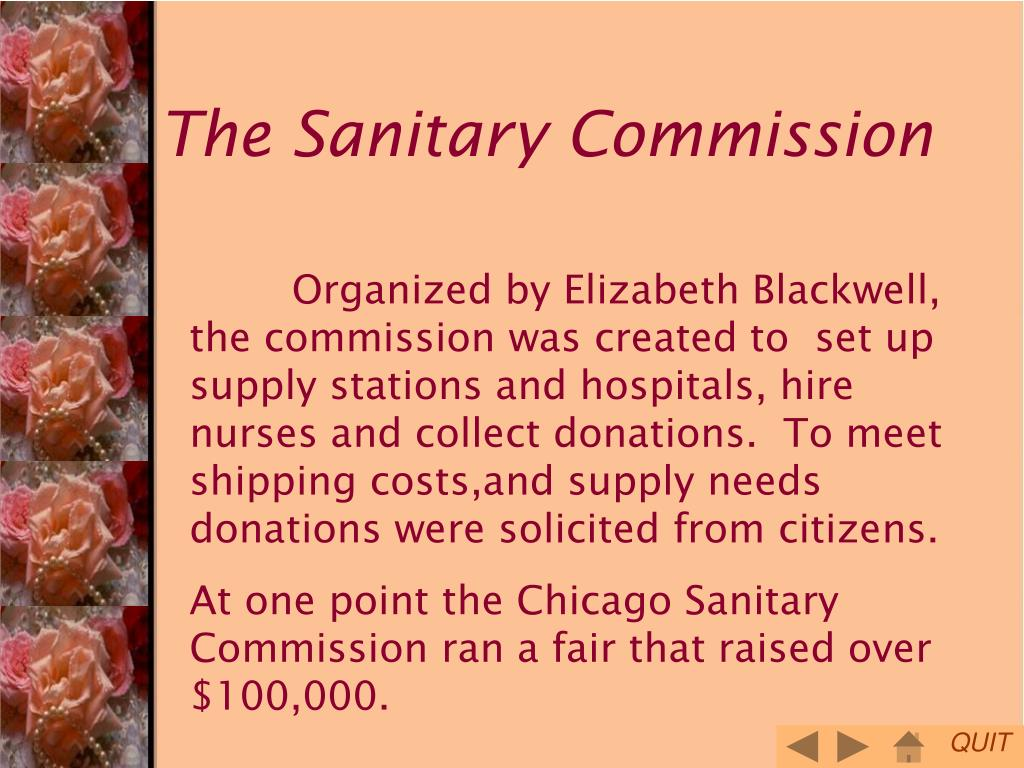 The Sanitary Commission