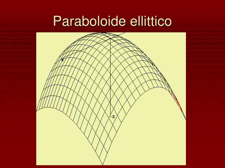 Paraboloide ellittico
