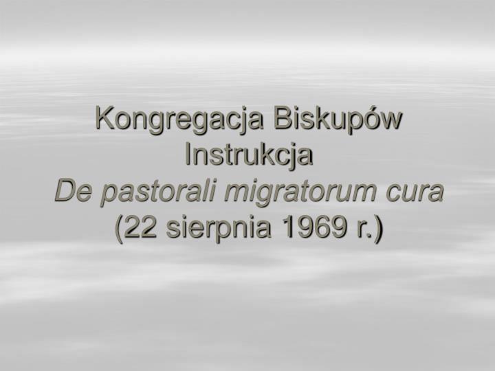 Kongregacja Biskupów