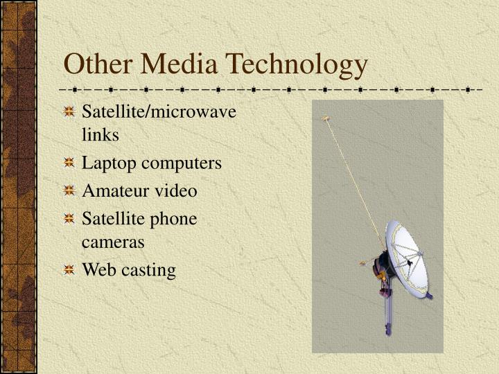 Other Media Technology