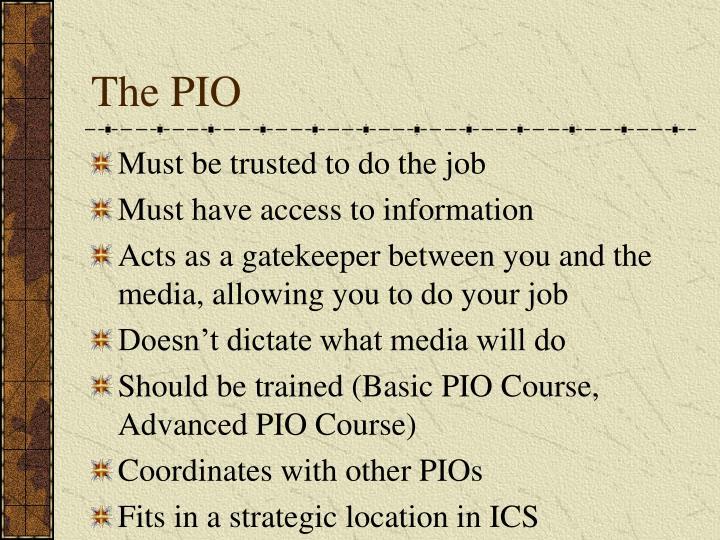 The PIO