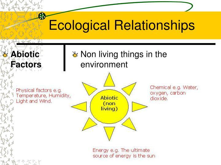 Abiotic Factors