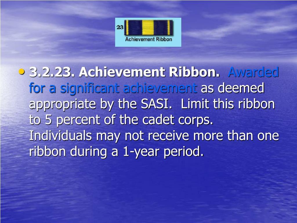 3.2.23. Achievement Ribbon.