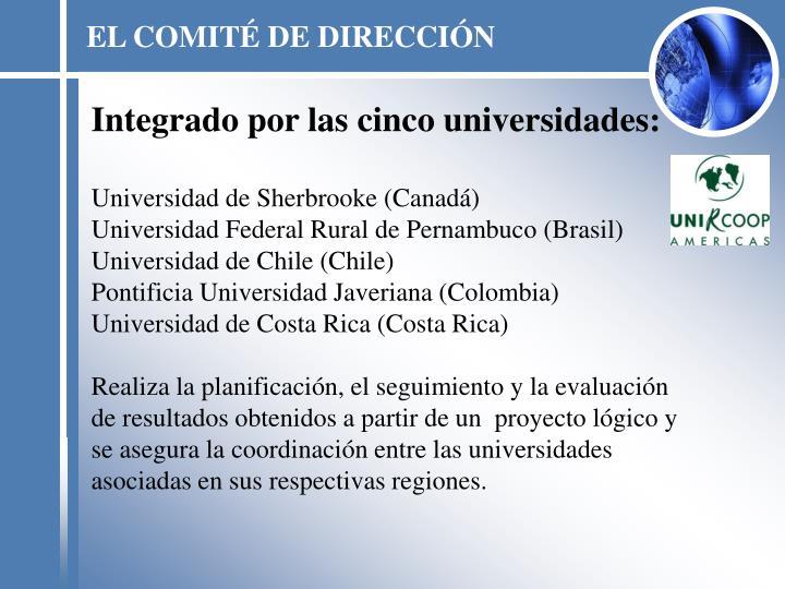 EL COMITÉ DE DIRECCIÓN