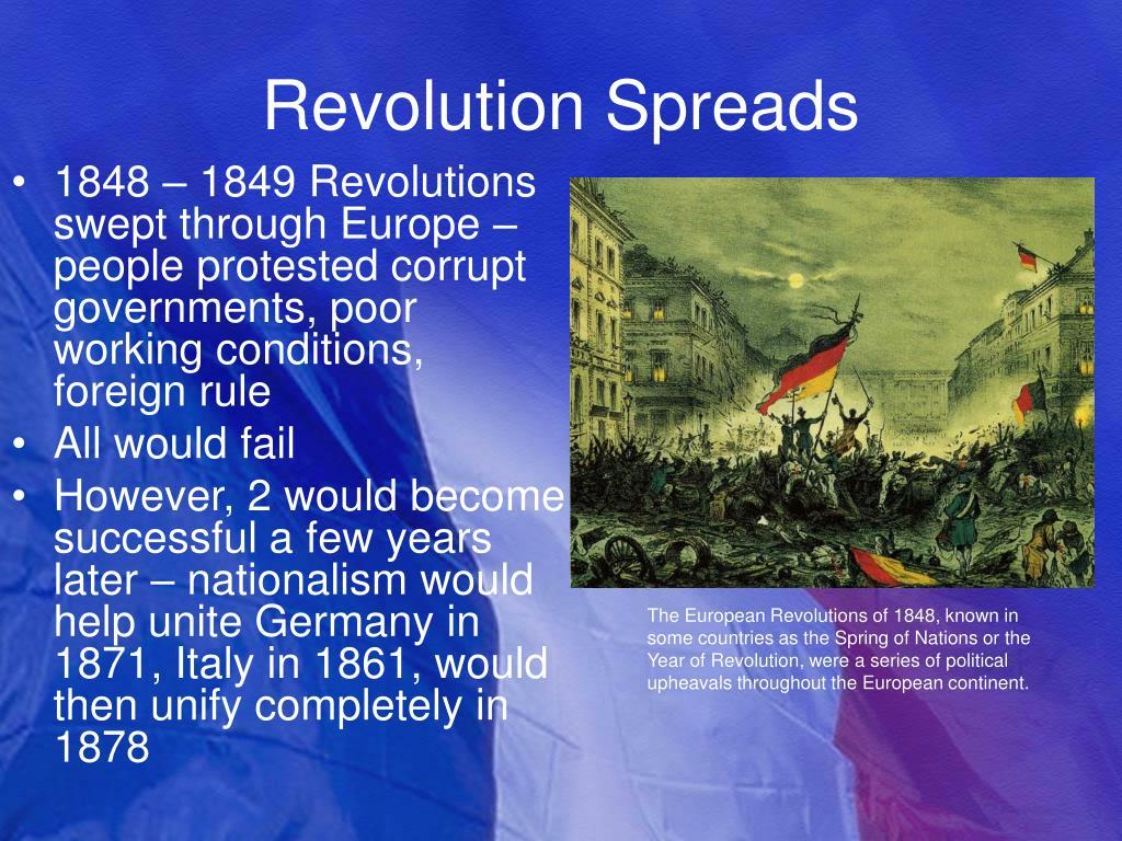 Revolution Spreads
