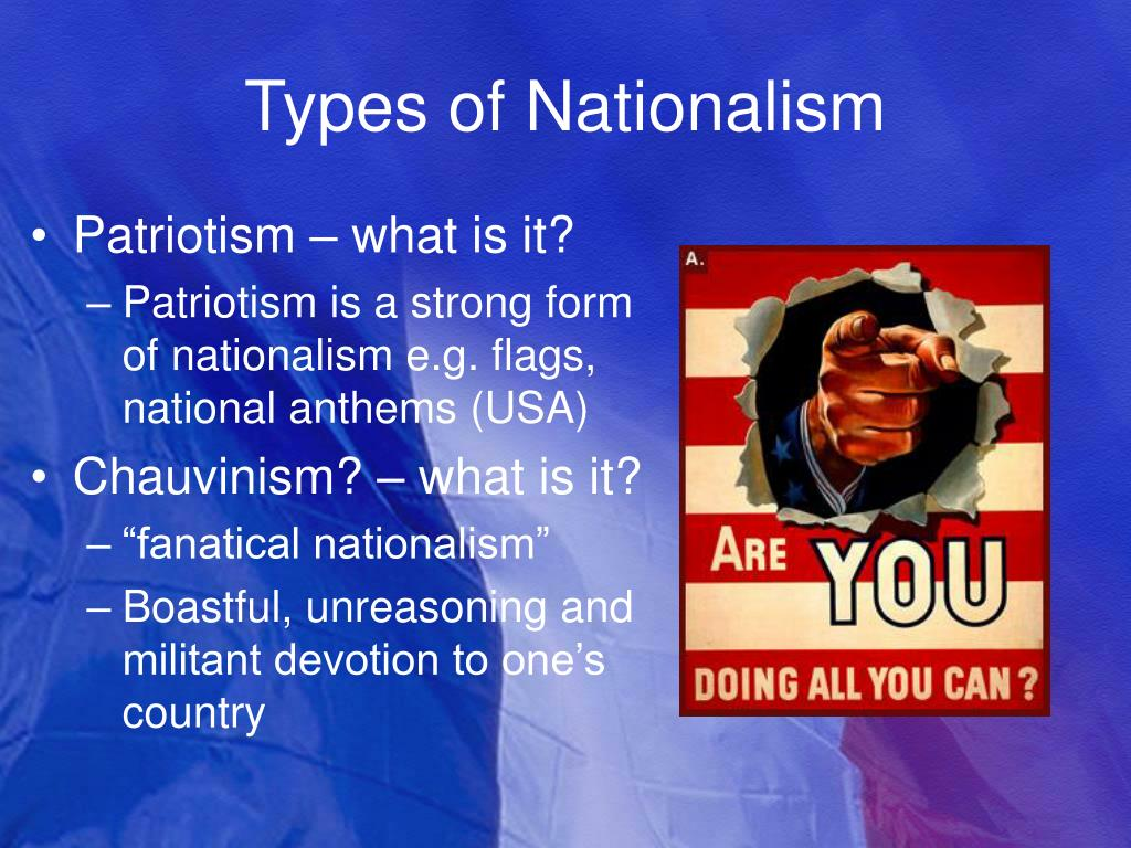Types of Nationalism