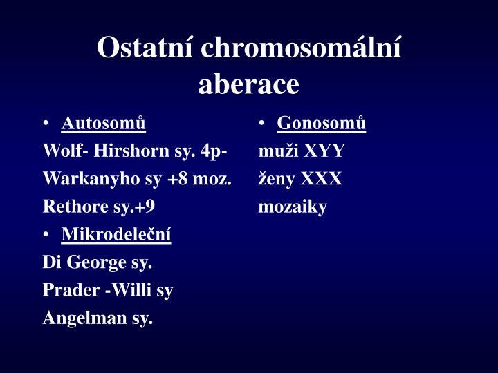 Autosomů