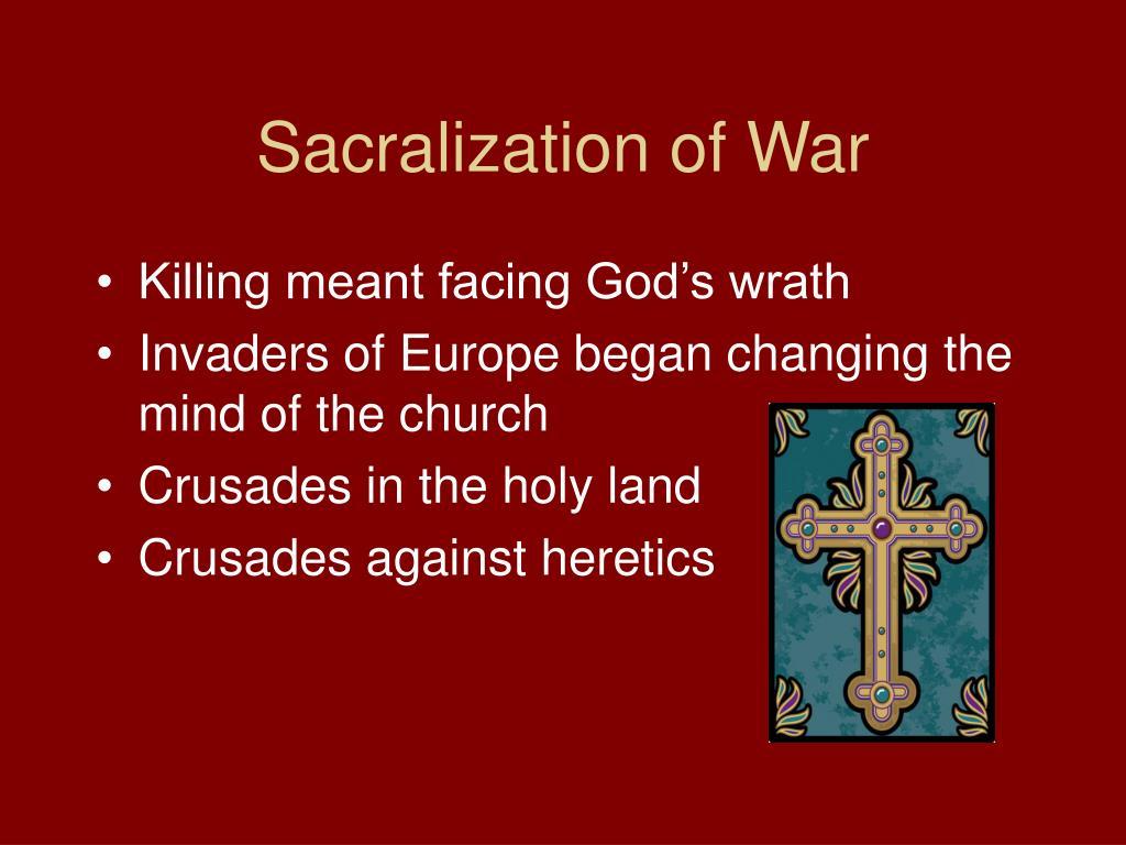 Sacralization of War