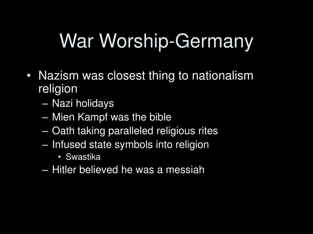 War Worship-Germany